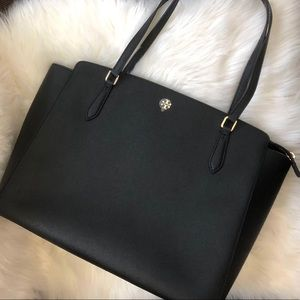 Tory Burch Emerson Large Top Zip Tote